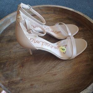 Sam Edelman   NWT Nude Strappy Sandal Heels
